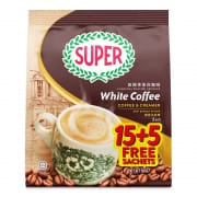 Charcoal Roasted White Coffee with Creamer 500g