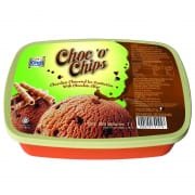 KING'S Ice Cream Tub Chocolate O Chip 1L