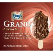 KING'S Grand Stick Chocolate Ice Cream 4sX70ml