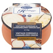 Vintage Cheddar & Caramelised Onion 170g