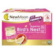 NEW MOON Bird's Nest with Collagen & Rock Sugar 6sX75g