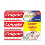 COLGATE WHITENING TOTAL 12 3S