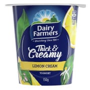 Yoghurt Thick & Creamy Lemon Cream 150g