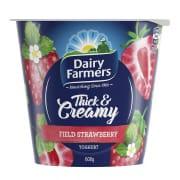 Yoghurt Thick & Creamy Field Strawberry 600g