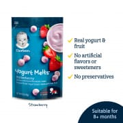 GERBER Graduates Yogurt Melts Strawberry - 28g