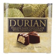 Dark Chocolate Durian Praline With Crunchy Cereals 70g