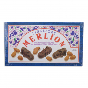 MERLION Singapore Chocolate With Almonds 130g