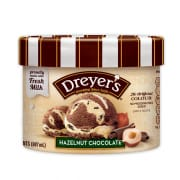 Hazelnut Chocolate Tub Ice Cream 887ml