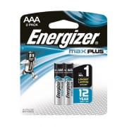 Max Plus AAA Alkaline Batteries 2s