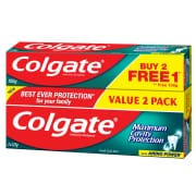 Fresh Cool Mint Toothpaste 2X225g FOC 100g
