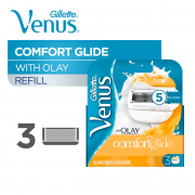 Comfort Glide with Olay Cartridge Refills 3s