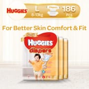 Gold Diapers L Carton 3 X 62s