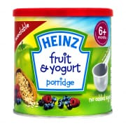 Baby Food - Fruit & Yogurt Porridge 6+ Months 240g