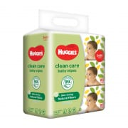 Clean Care Baby Wipes 3 X 80s