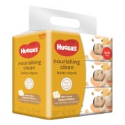Nourishing Clean Baby Wipes (Cocoa & Shea Butter) 3X72s