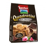 LOACKER Bite Size Wafers Quadratini Dark Chocolate 250g