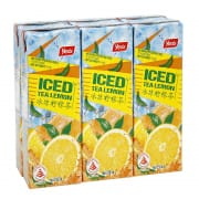 YEO'S Iced Lemon Tea (Not So Sweet) 6sX250ml