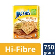 High-Fibre Wheat Crackers 750g