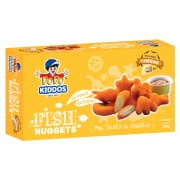 Kiddos Fish Nuggets With Cheese 12s