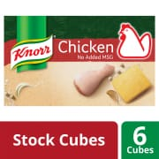 Stock Cubes - Chicken No MSG 6sX10g