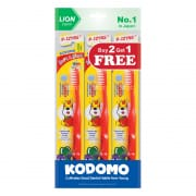 Soft & Slim Toothbrush 9-12yrs B2G1 Value Pack