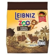 Zoo Jungle Biscuits with Cocoa 100g