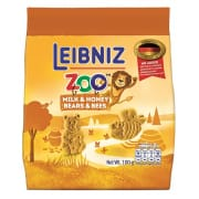 BAHLSEN Zoo Bears & Bees Biscuits with Milk & Honey 100g