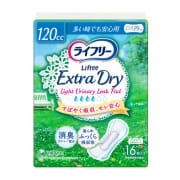 Extra Dry Light Urinary Leak Pad 120cc 16s