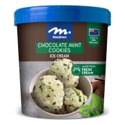Chocolate Cookie & Mint Ice Cream 1L