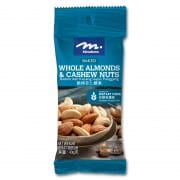 Baked Whole Almonds & Cashew Nuts 40g
