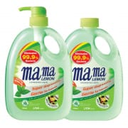 Mama Lemon Anti-Bacterial Refreshing Green Tea Dishwashing Liquid