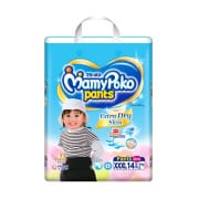 Extra Dry Pants Diapers (Girls) XXXL 14s 18-35kg