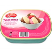 Ice Cream Tub Neapolitan 1.5L