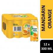Mandarin Orange Black Tea 12sX300ml