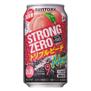 Strong Zero Tri Peach Can 350ml
