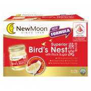NEW MOON superior birds nest with rock sugar 75g x 6s