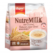 SUPER Instant Cereal Drink NutreMill 3-In-1 - Reduced Sugar 20sX20g