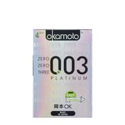 003 Platinum Condoms 4s