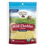 Mild Cheddar Shredded Cheese 170g
