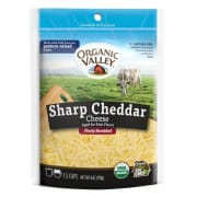 Sharp Shredded Cheddar Cheese 170g