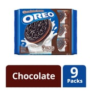 OREO Sandwich Cookies - Chocolate 9sX29.4g