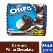 OREO Chocolate Sandwich Cookies - Dark & White 9sX29.4g