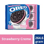 OREO Sandwich Cookies - Strawberry 9sX29.4g