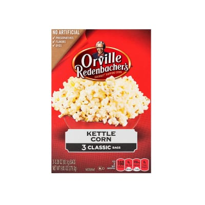 Kettle Corn Pop-Up Bowl Popcorn 3sX93.1g