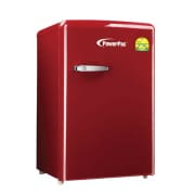 108L Red Retro Fridge PPF108R