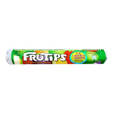 Frutips Fruit Pastilles Tube 52.5g