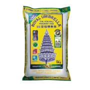 ROYAL UMBRELLA New Crop Thai Hom Mali Fragrant Rice 5kg