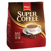 SUPER Instant Coffee 3-In-1 Low Fat (Regular) 40sX20g