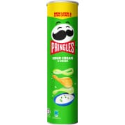 Potato Crisps Sour Cream & Onion 147g