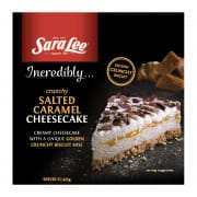 Salted Caramel Cheesecake 425g